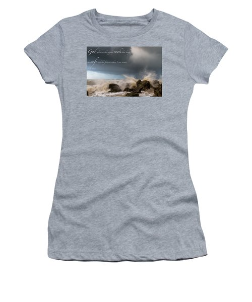 Psalm 62 2 Women's T-Shirt