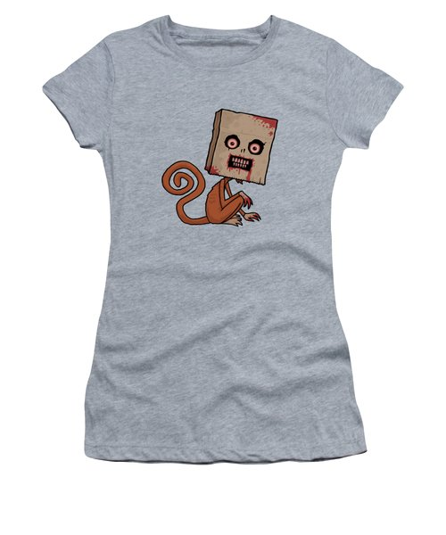 Psycho Sack Monkey Women's T-Shirt (Athletic Fit)