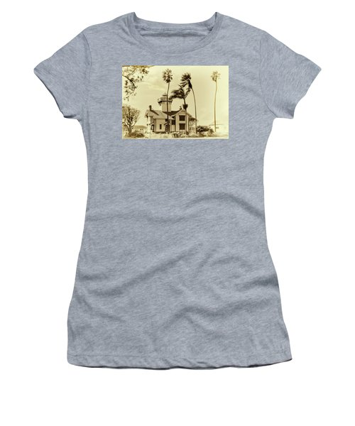Pt. Fermin Lighthouse Women's T-Shirt (Junior Cut) by Joseph Hollingsworth