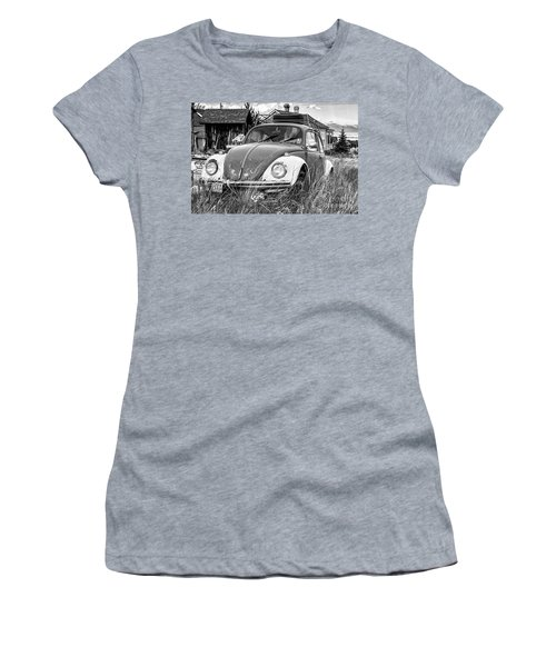 Women's T-Shirt featuring the photograph Punch Bug by Bitter Buffalo Photography
