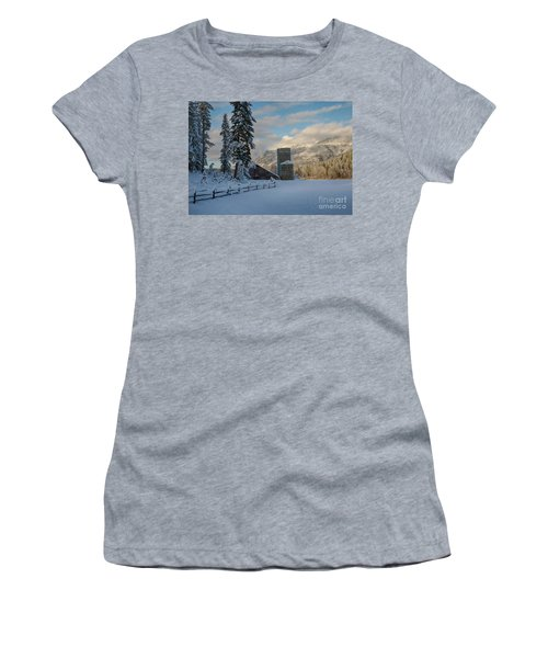 Purcell Barn Women's T-Shirt (Athletic Fit)