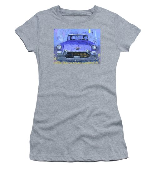 Purple Cadillac Women's T-Shirt