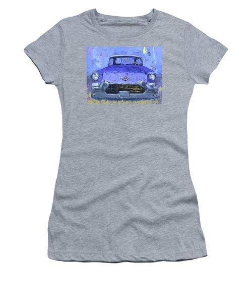 Purple Cadillac Women's T-Shirt