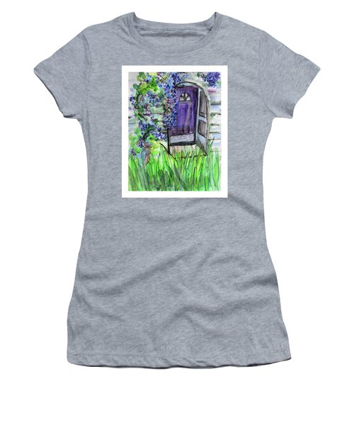 Purple Doorway Women's T-Shirt