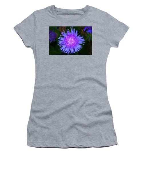 Purple Flower From Mars Women's T-Shirt