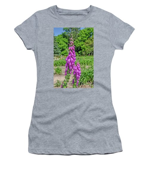 Purple Foxglove Digitalis Purpurea L Women's T-Shirt
