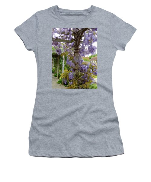 Purple In Priory Park Women's T-Shirt (Athletic Fit)