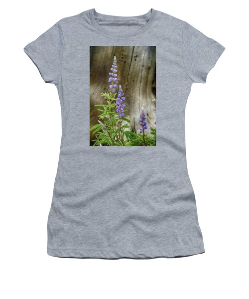 Purple Lupine Women's T-Shirt (Athletic Fit)
