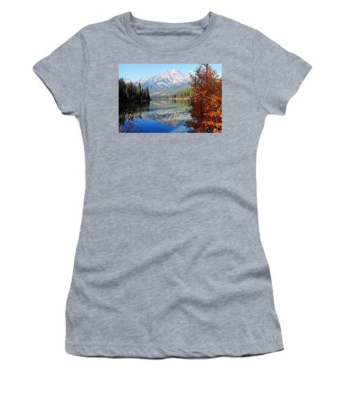 Pyramid Mountain Reflection 3 Women's T-Shirt