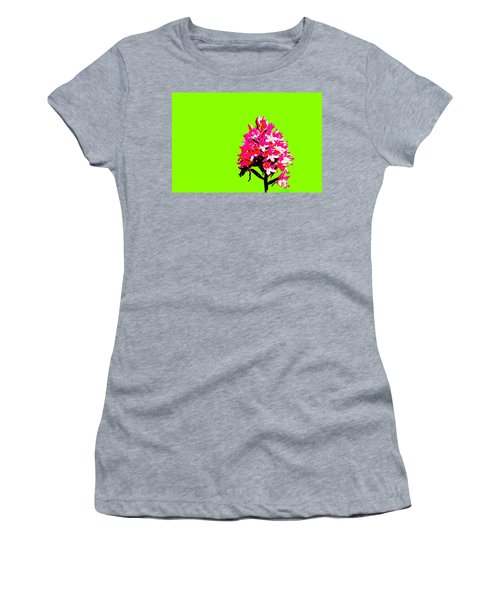 Green Pyramid Orchid Women's T-Shirt (Athletic Fit)