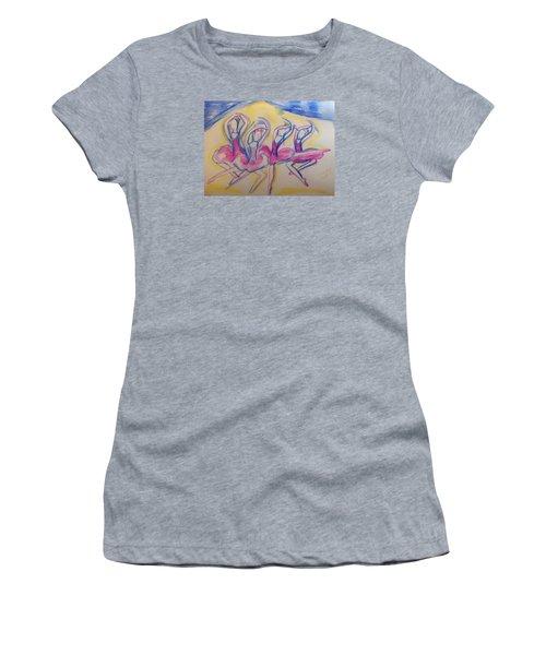 Quaint Quadrille Women's T-Shirt (Athletic Fit)