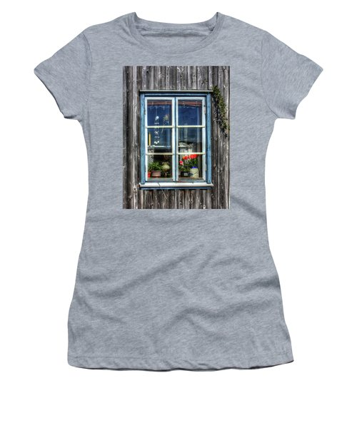 Quaint Window Women's T-Shirt (Athletic Fit)