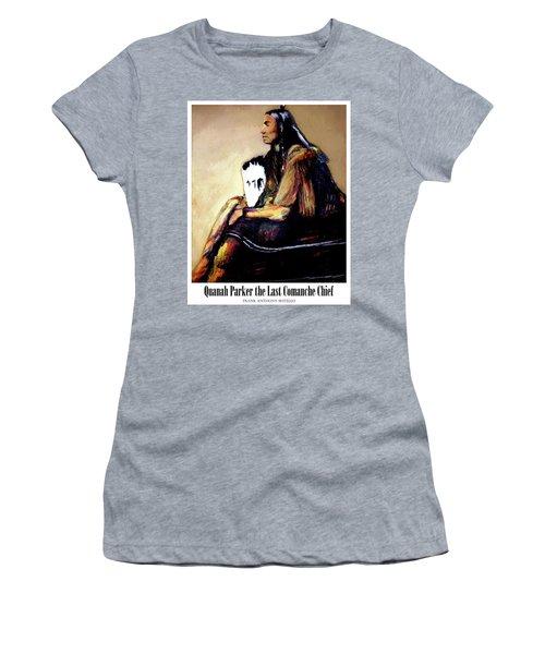 Quanah Parker The Last Comanche Chief II Women's T-Shirt (Athletic Fit)