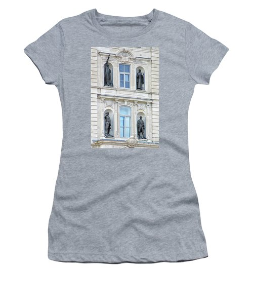 Quebec City 76 Women's T-Shirt (Athletic Fit)