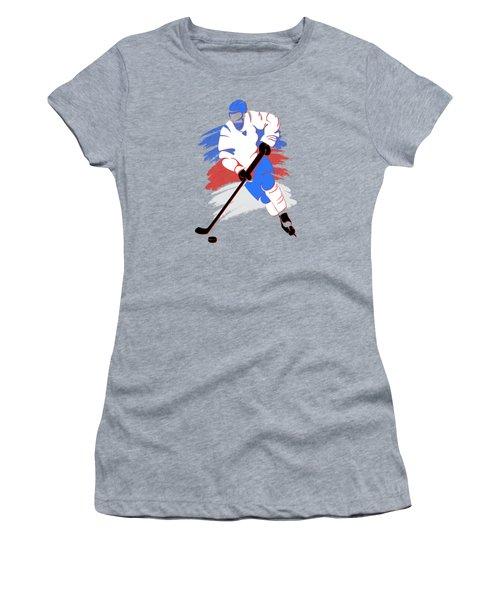 Quebec Nordiques Player Shirt Women's T-Shirt (Athletic Fit)