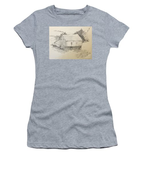 Quiet Barn Women's T-Shirt (Athletic Fit)