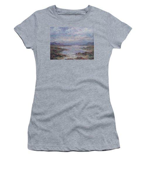 Quiet Bay. Women's T-Shirt (Athletic Fit)