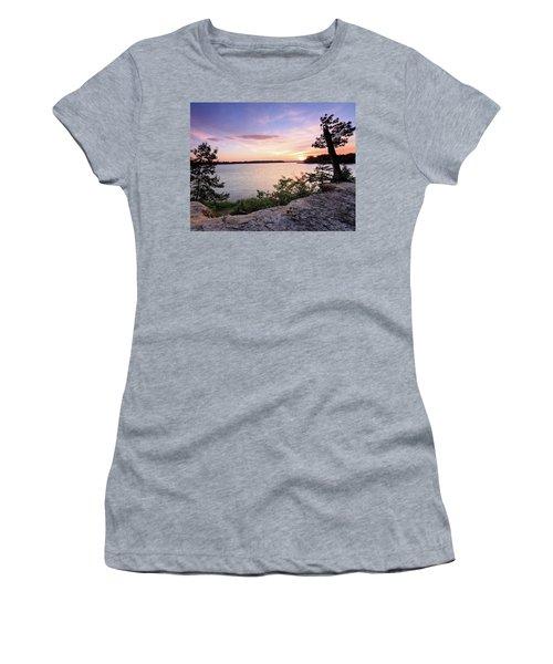 Quiet Waters Crop Women's T-Shirt (Junior Cut)