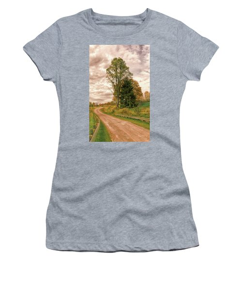 Women's T-Shirt (Athletic Fit) featuring the photograph Quixotic Travels by John M Bailey