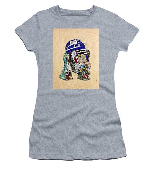 R2-d2 Star Wars Afrofuturist Collection Women's T-Shirt