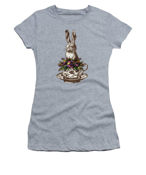 Rabbit In A Teacup Women's T-Shirt