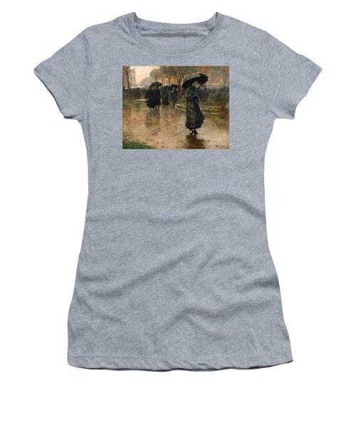 Rain Storm Union Square Women's T-Shirt