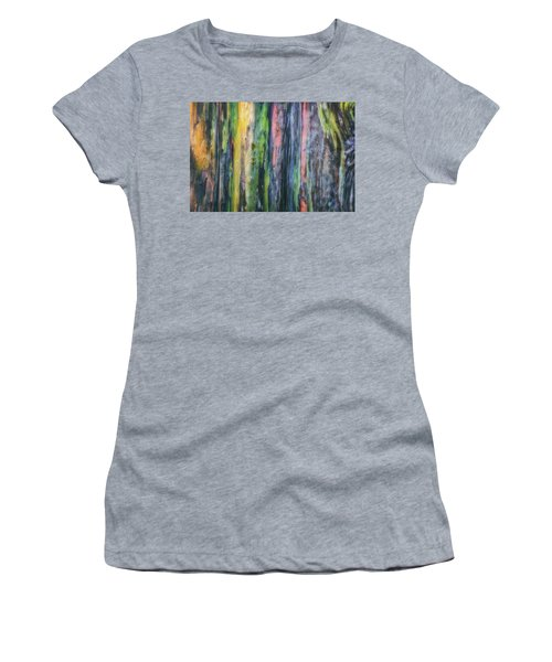Women's T-Shirt (Junior Cut) featuring the photograph Rainbow Forest by Ryan Manuel