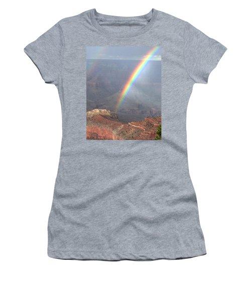 Rainbow Meets Mather Point Women's T-Shirt