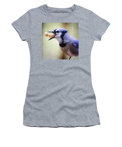 Rainy Day Blue Jay Women's T-Shirt