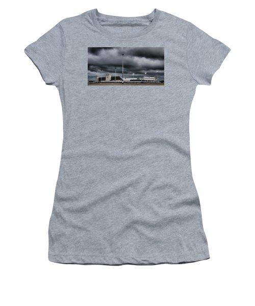 Ralph Wilson Stadium 5803 Women's T-Shirt (Athletic Fit)