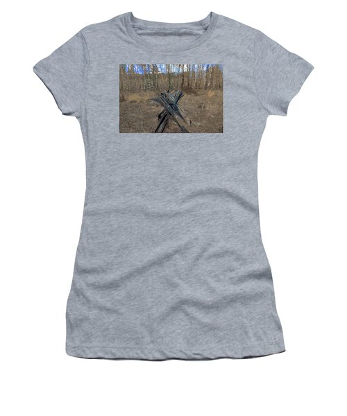 Ranch Fencing Women's T-Shirt (Athletic Fit)