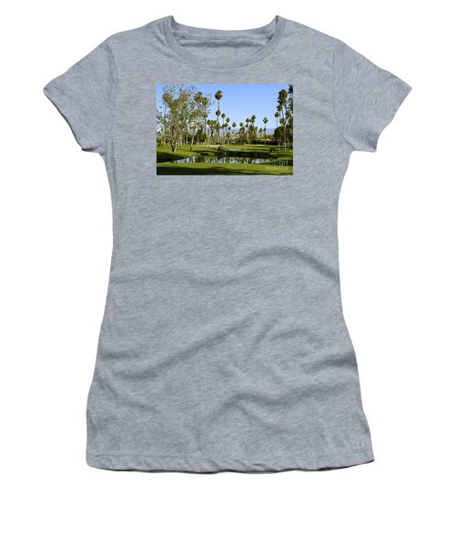 Rancho Mirage Golf Course Women's T-Shirt (Athletic Fit)