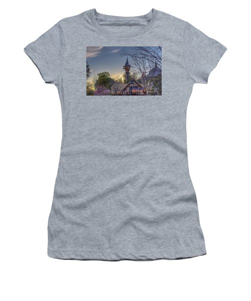 Rapunzel's Tower At Sunset Women's T-Shirt (Athletic Fit)