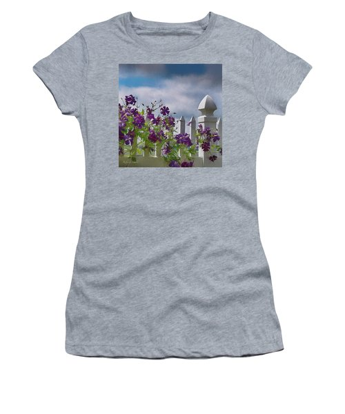 Reaching For The Sky Women's T-Shirt (Athletic Fit)