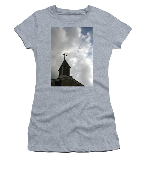 Reaching Steeple Women's T-Shirt (Athletic Fit)