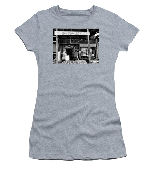 Real French Cooking Louisiana Restaurant  Women's T-Shirt (Athletic Fit)