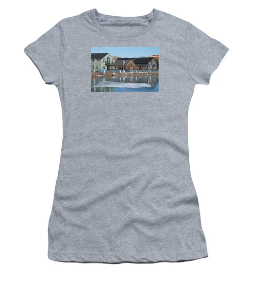 Remains Of The Old Fishing Village Women's T-Shirt (Junior Cut) by Janice Adomeit