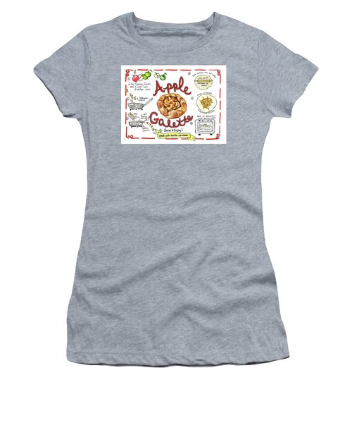 Recipe- Apple Galette Women's T-Shirt