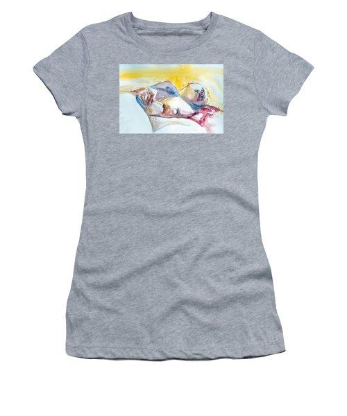 Reclining Study Women's T-Shirt