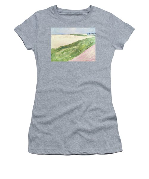 Recompense Women's T-Shirt (Junior Cut) by Angela Annas