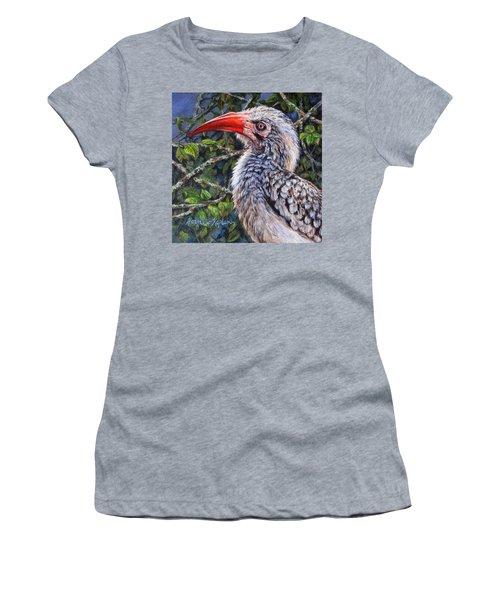 Red Billed Hornbill Women's T-Shirt