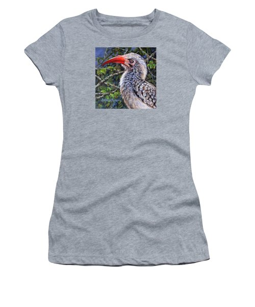 Red Billed Hornbill Women's T-Shirt