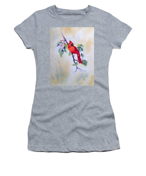 Red Cardinal  Women's T-Shirt