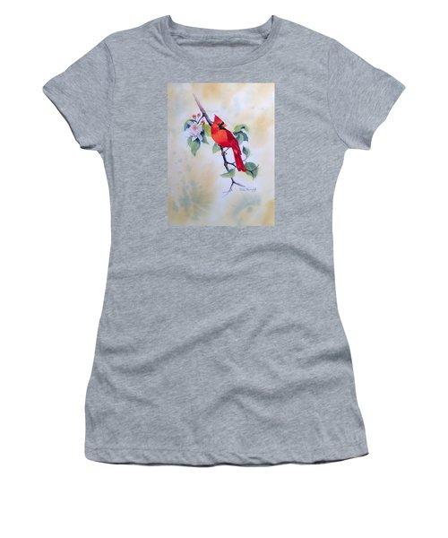 Red Cardinal  Women's T-Shirt