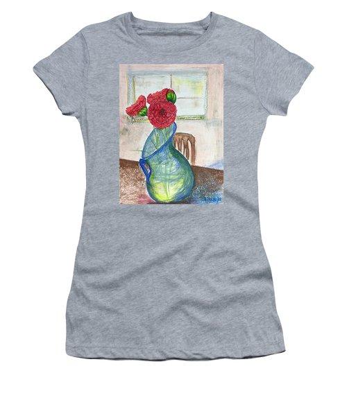 Red Carnations Women's T-Shirt