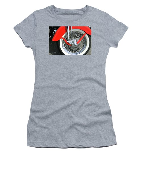 Red Fender Women's T-Shirt (Athletic Fit)