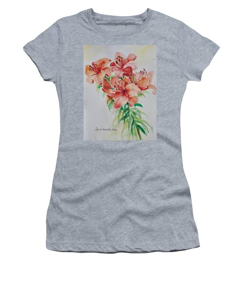 Red Lilies Women's T-Shirt