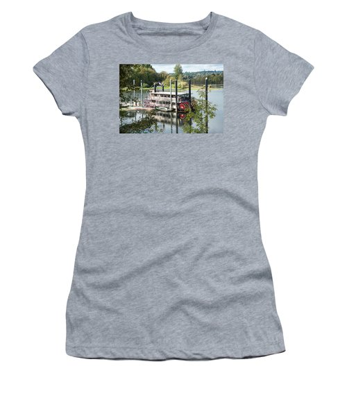 Red Paddle Wheel Women's T-Shirt