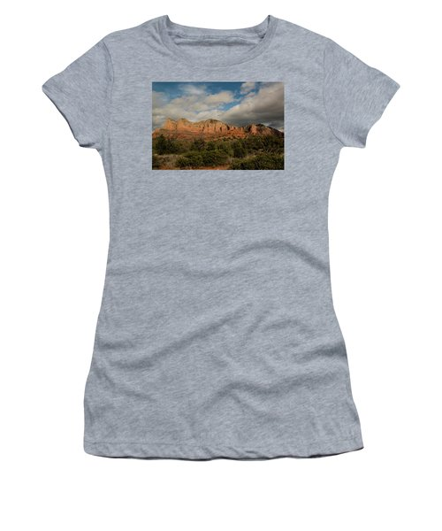 Red Rock Country Sedona Arizona 3 Women's T-Shirt (Athletic Fit)