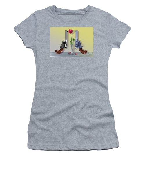 Red, White, And Blue Women's T-Shirt (Athletic Fit)